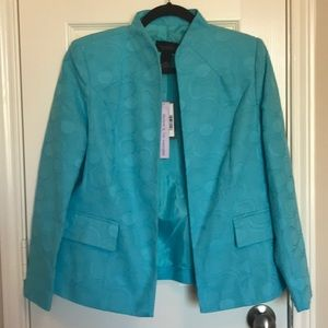 NWT Investments Turquoise Blazer